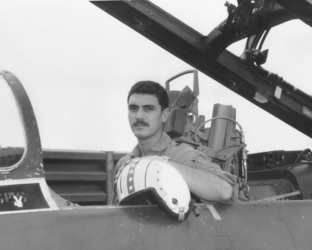 Dean Echenberg during his service in Vietnam.