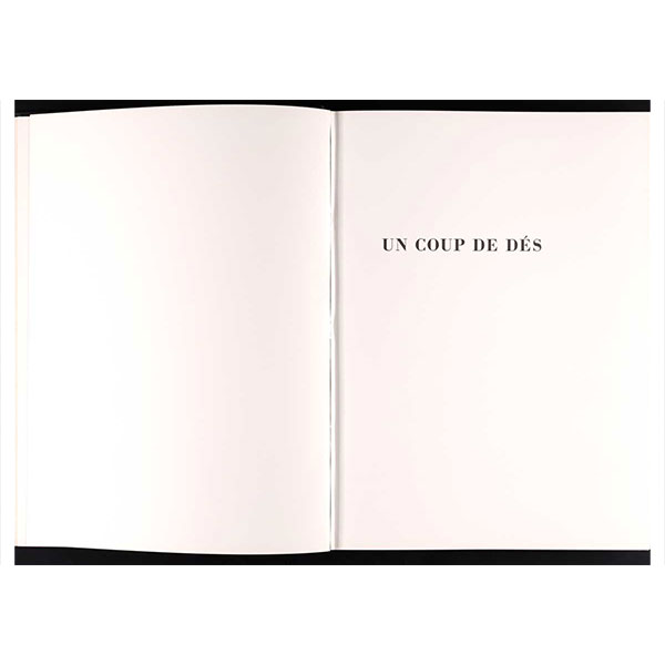 Meticulous free verse: Mallarmé's Un Coup de Dés and Ellsworth Kelly