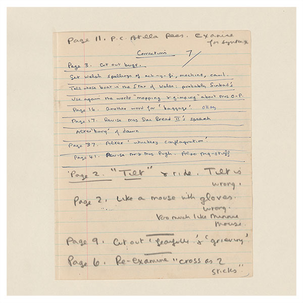 The Digitized Dylan Thomas: The single word as thing, dropped on to the page