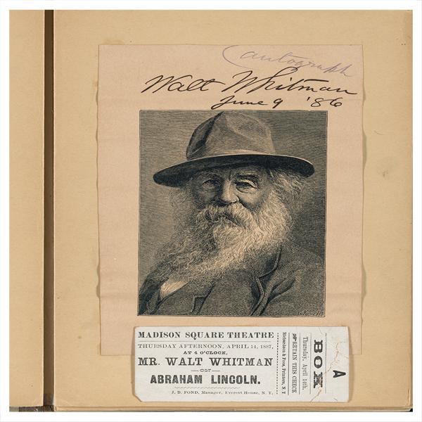 Abraham Lincoln and Walt Whitman