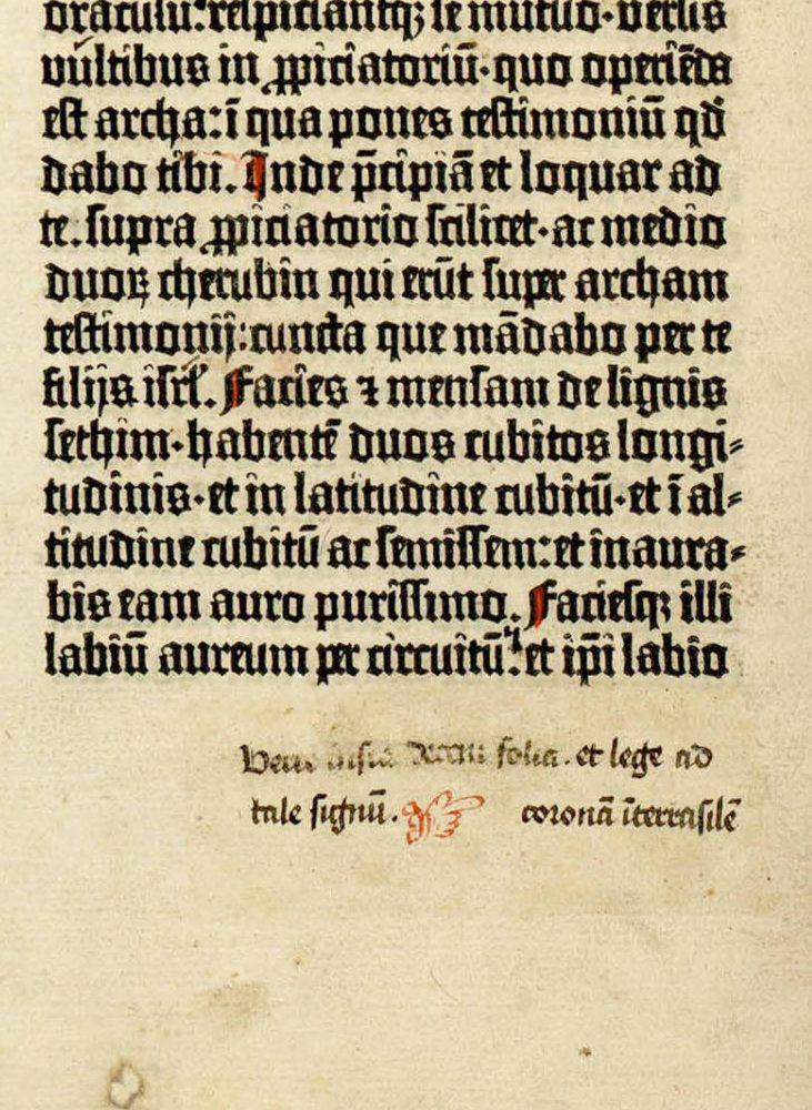 [Biblia latina, commonly known as the Gutenberg Bible (Mainz: Johann Gutenberg and Johann Fust, between 1454 and 1456)], 40 verso.