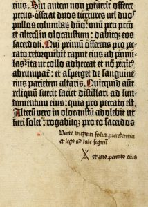 [Biblia latina, commonly known as the Gutenberg Bible (Mainz: Johann Gutenberg and Johann Fust, between 1454 and 1456)], 60 verso.