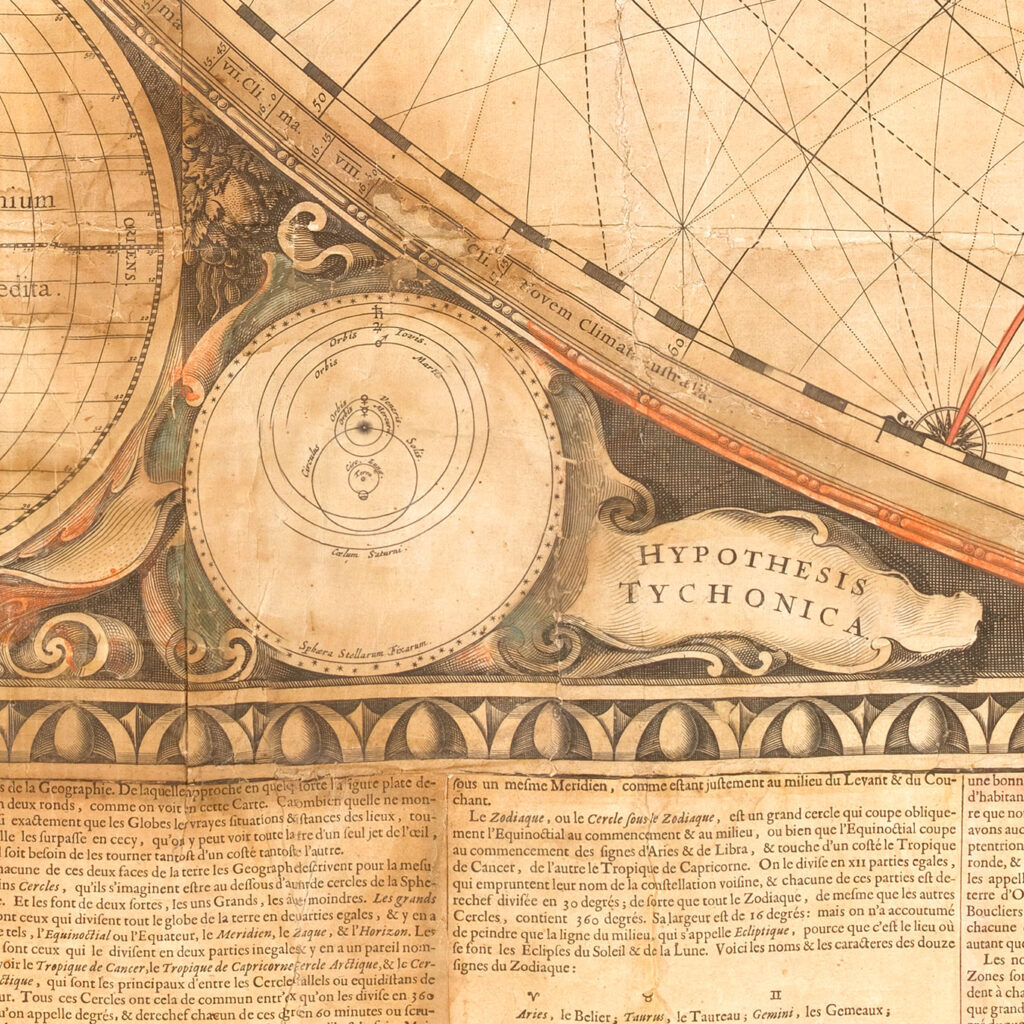 Detail of Joan Bleau's 1648 map.