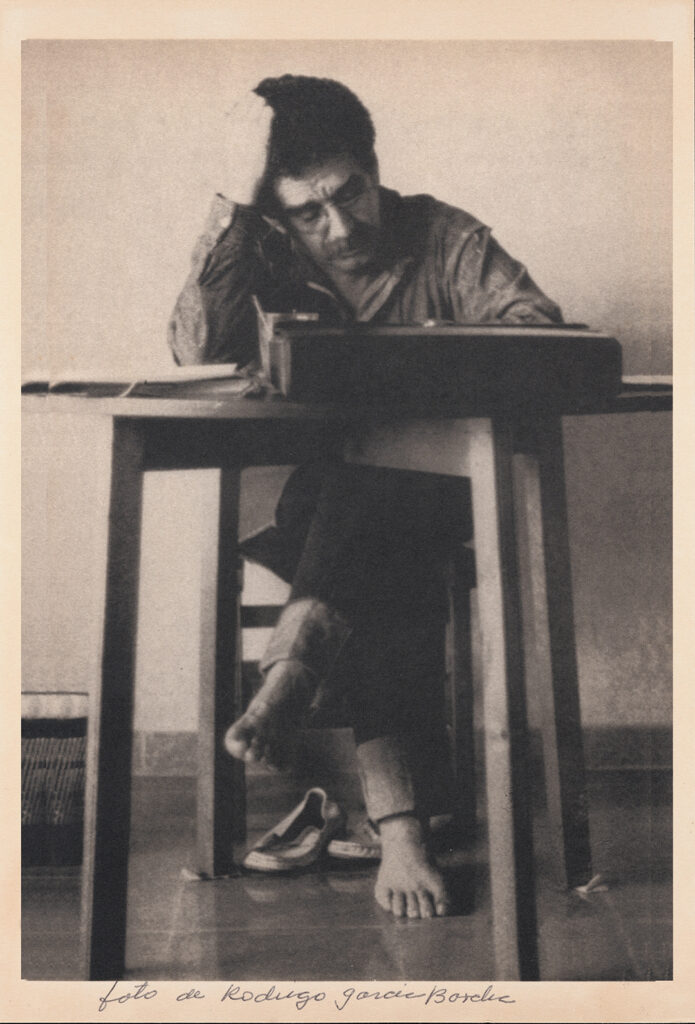 [Gabriel García Márquez in his studio