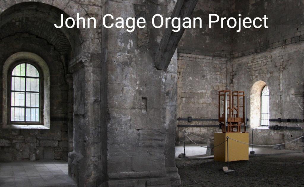 john cage organ project
