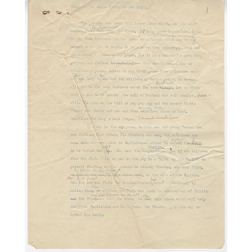 virginia woolf manuscript