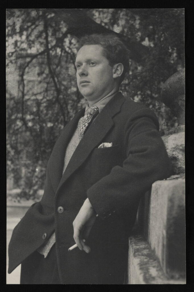 Photo of Dylan Thomas