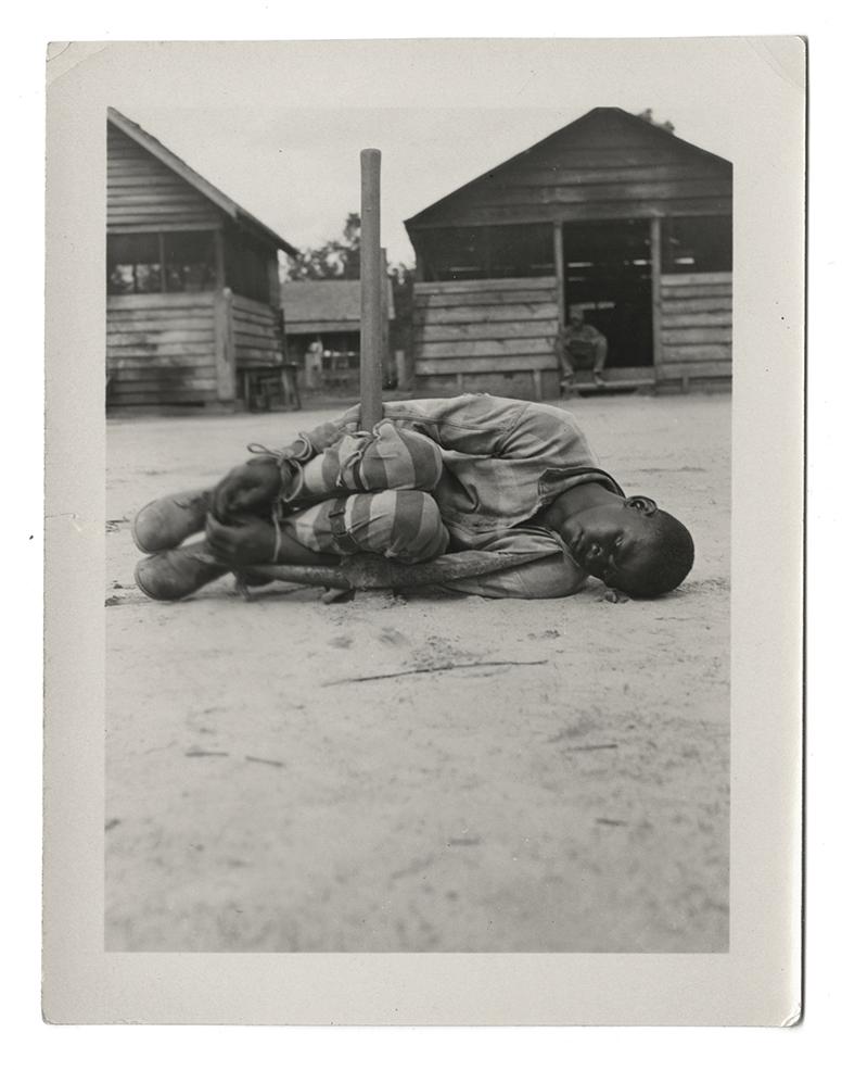 Spivak photo of an inmate in Georgia in 1930s