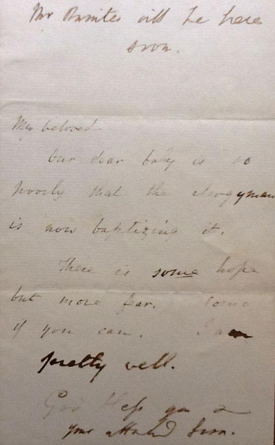 Coleridge letter