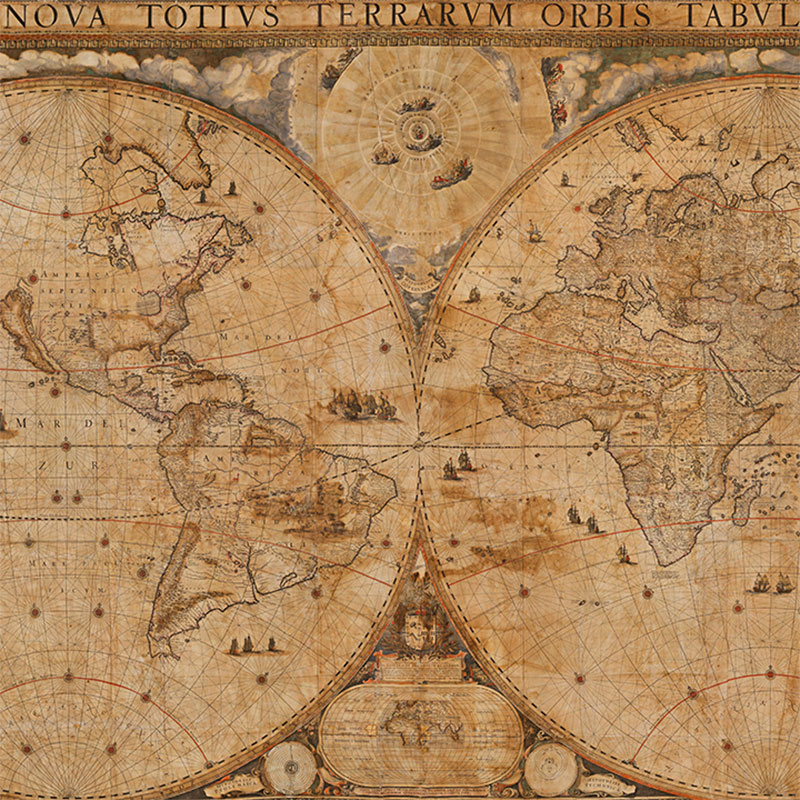 Blaeu World Map
