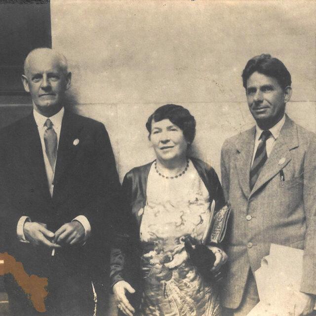 John Galsworthy, Catharine Amy Dawson Scott, Hermon Ould