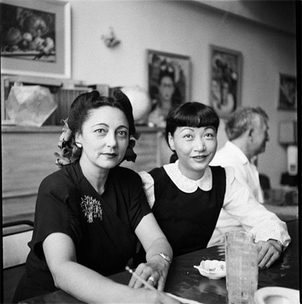 Rosa Rolanda and Anna May Wong