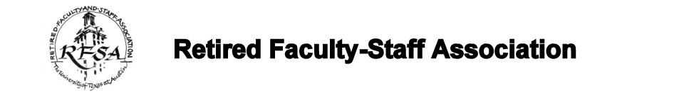 UT Retired Faculty-Staff Asociation