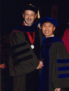 Dr. Yichen Lin and Dr. Richburg