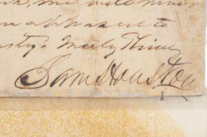 Houston to Davis 1860