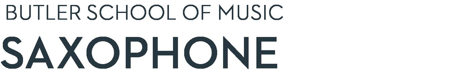Butler School of Music Saxophone Studio Home Page