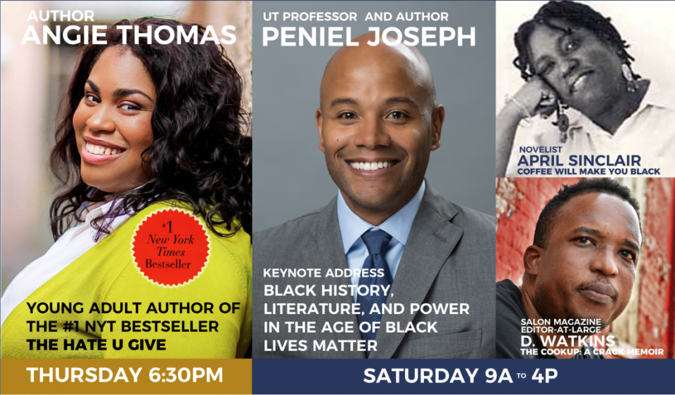 Bestselling Authors, UT Professors to Celebrate African