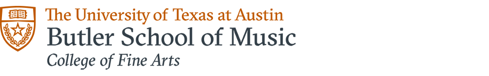 University of Texas at Austin, Butler School of Music, College of Fine Arts