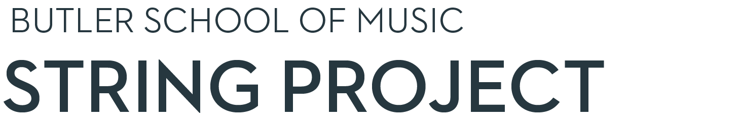 Butler School of Music String Project Homepage