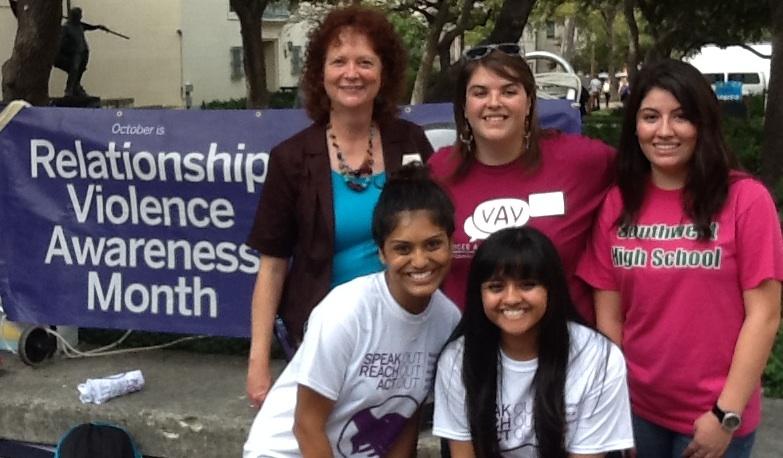 Jane Bost, Erin Burrows & students