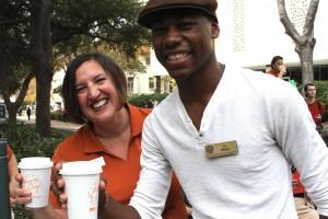 Christa Lopez & Ty Wilson.