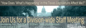 Legislative Staff Mtg Banner
