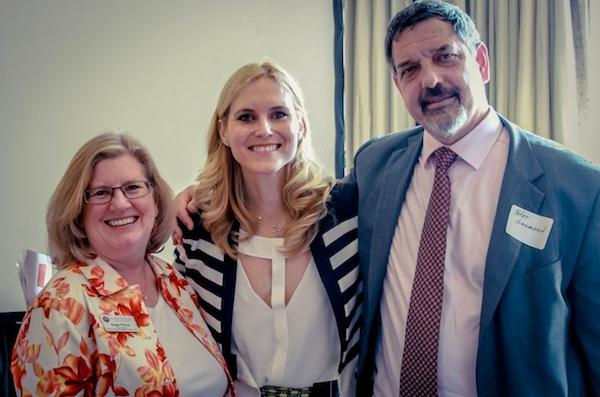Gage Paine, Ivana Grahovac & Peter Gaumond at CSR Spring Brunch
