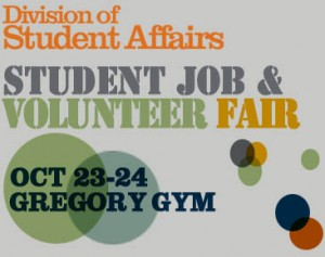 Division of Student Affairs Student Job & Volunteer Fair
