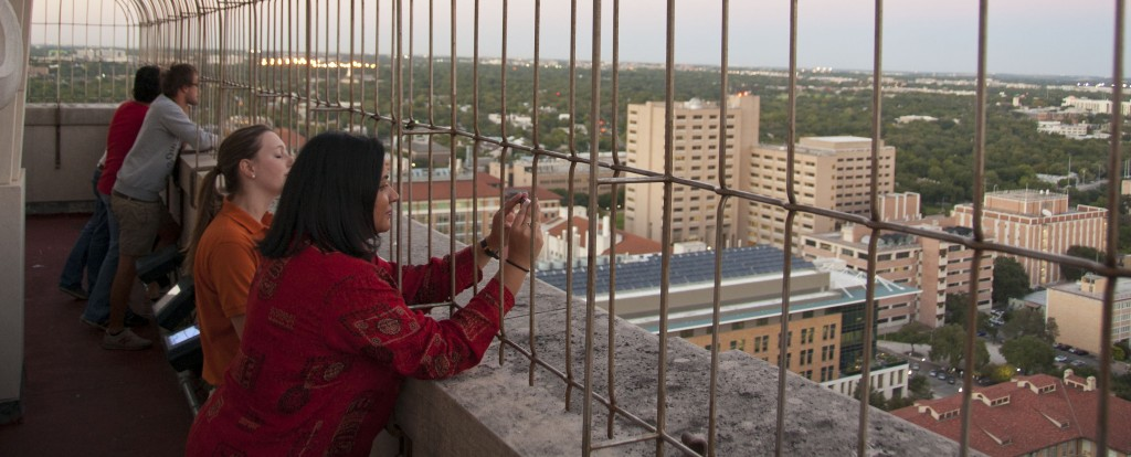 Smita Ruzicka on a Tower Tour