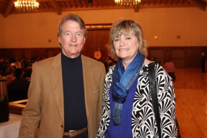 President Bill Powers and Donna Bellinghausen