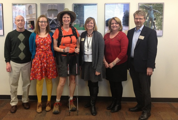 CMHC Wellness Committee- Keith Arrington, Katy Redd, Jane Bost, Laura Dannenmaier, Terri Bohuslav and Chris Brownson
