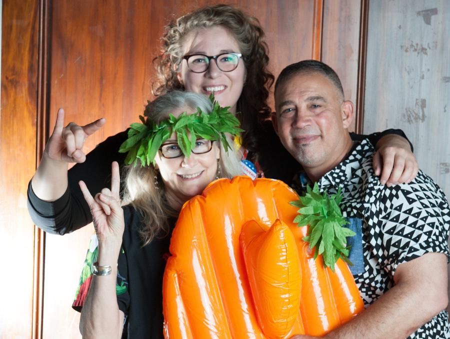 CSR Hawaii themed party