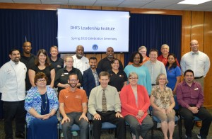 Spring 2015 Housing and Food Service Leadership Institute graduates