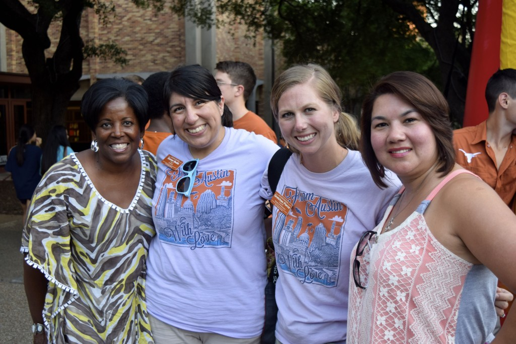 "Soncia Reagins-Lilly, Esmer Bedia, Gretchen Pierce & Rosie Garza at ""From Austin with Love"""