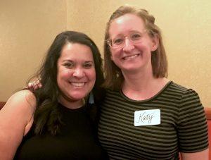 Katy Redd and Jennifer Zamora. Links to photo.
