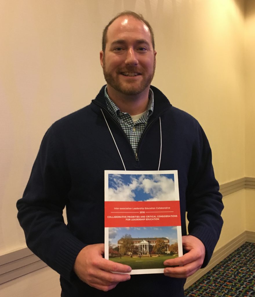 Dave Dessauer at NASPA Leadership Educators Institute