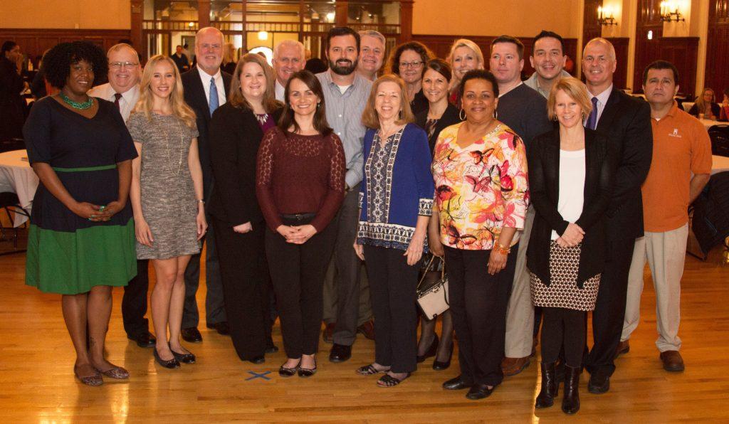 Past and present Staff Merit Award recipients