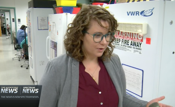 Sierra Castedo (The Center for Students in Recovery) speaks with Spectrum News.