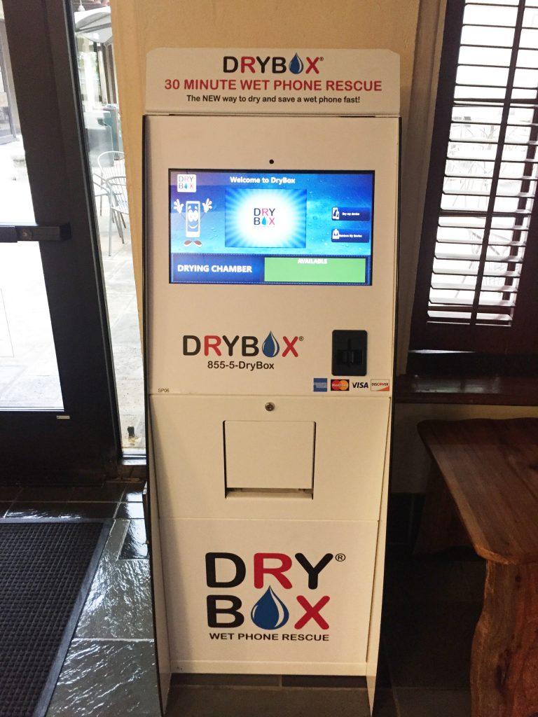 DRYBOX® machine at the Texas Union