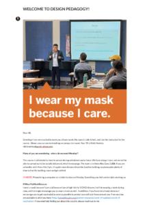 I wear my mask because