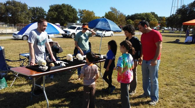 Texas Archeology Month Fair 2017