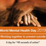 World Mental Health Day 2019: focus on suicide prevention