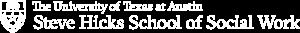 Steve Hicks School of Social Work logo knocked out