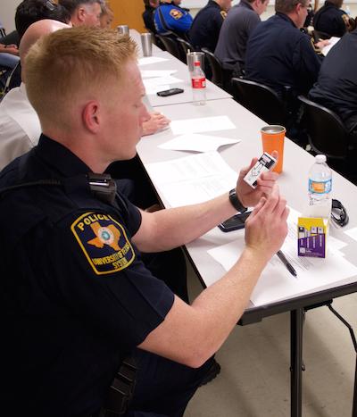 OperationNaloxone training for UT System police