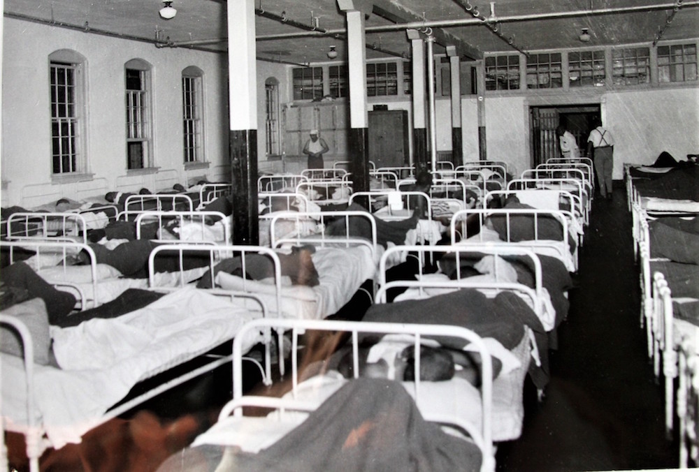 A Central State Hospital ward. Photo provided by King Davis.