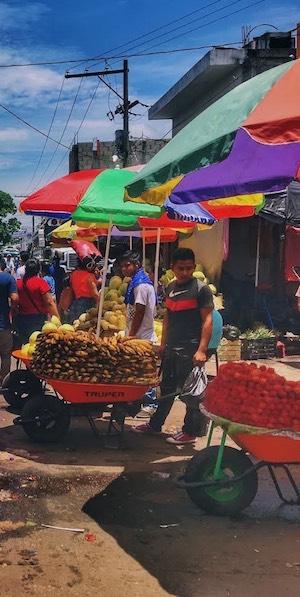Guatemalan open market