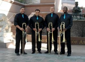 The Minor 4th Trombone Quartet