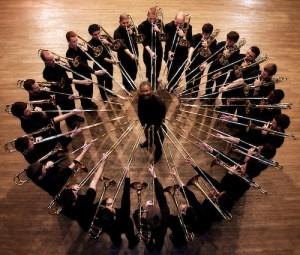 trombone choir group photo