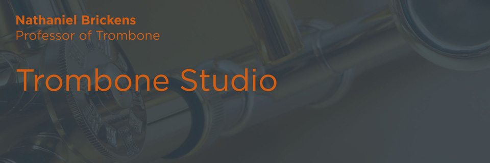 Trombone Studio | Butler School of Music | The University of Texas at Austin