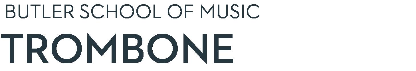 Butler School of Music Trombone Studio hompage